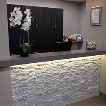 Reception Counter Northwest Prosthodontics